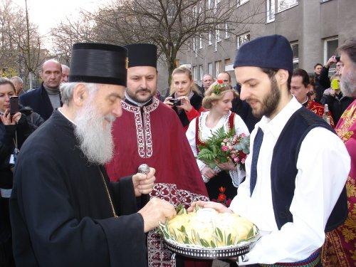 Његова Светост Патријарх српски Г. Иринеј у Берлину