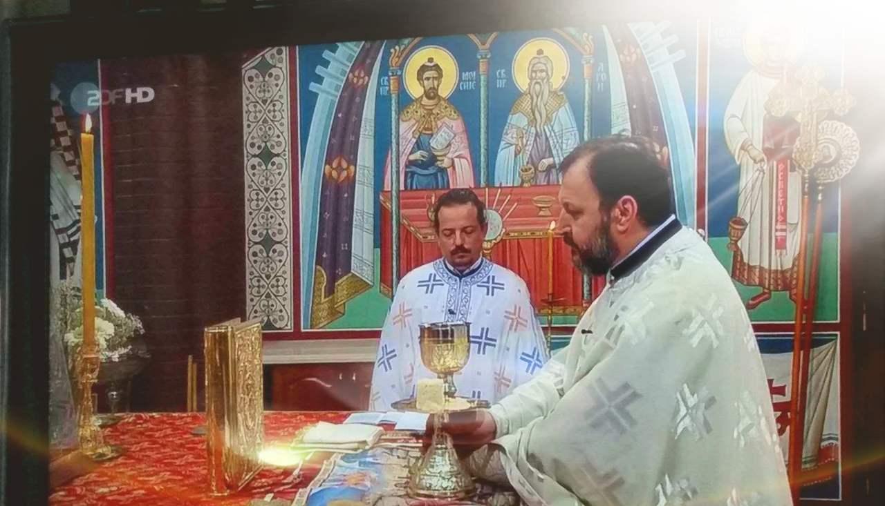 ТВ пренос Свете Литургије из храма Св. Саве